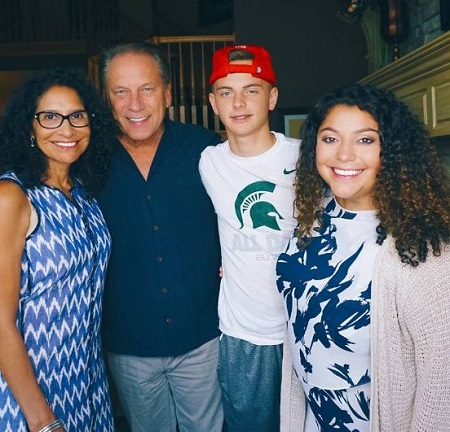 tom izzo and lupe marizen izzo daughter and son 1