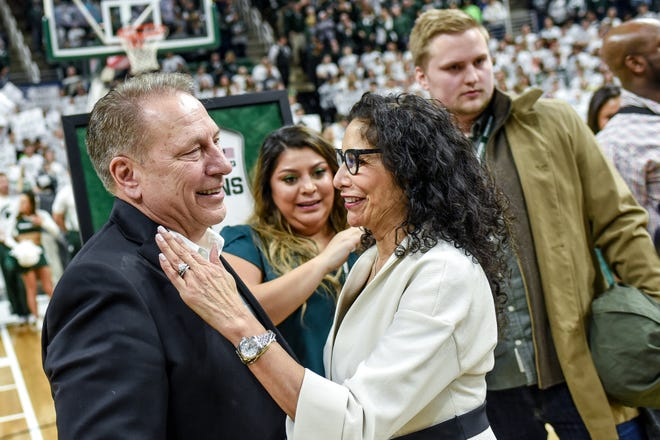 tom izzo wife and family