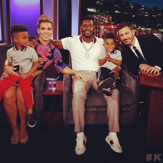 Chelsie Kyriss antonio brown girlfriend and children