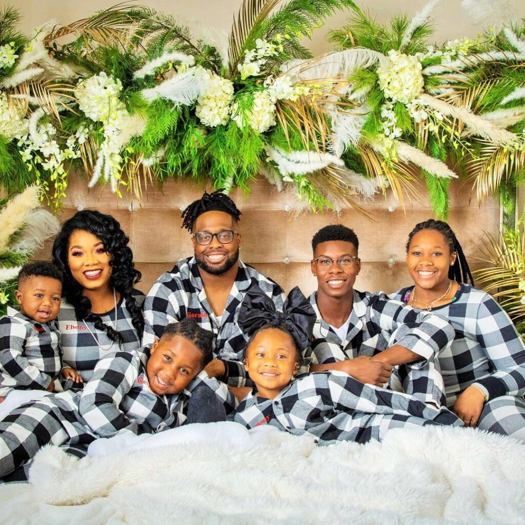Ebony+McCoy With Family