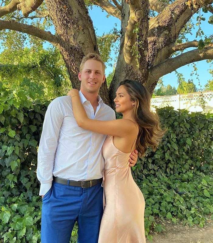 net Worth and Jared-Goffs-girlfriend-Christen-Harper