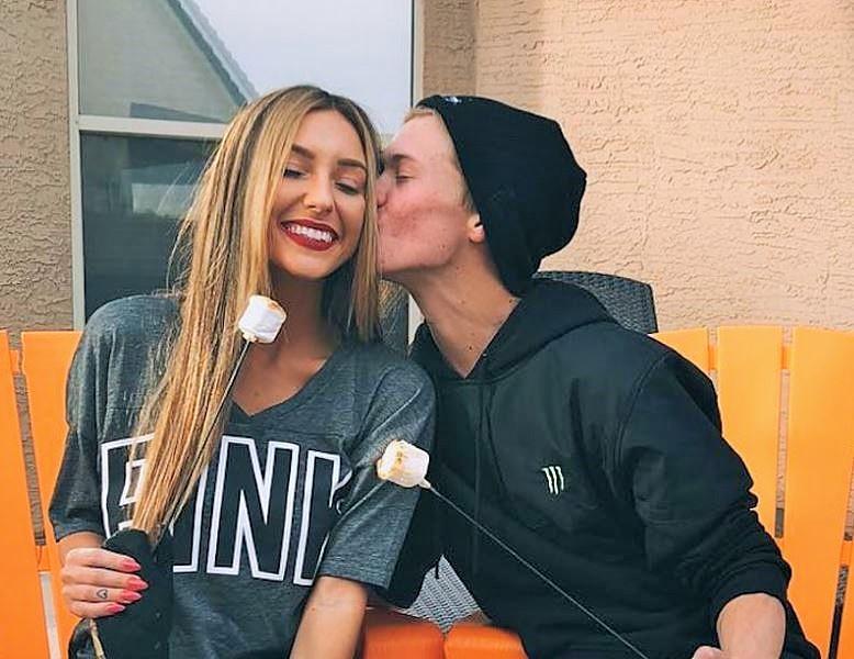 Taylor with her ex-boyfriend Tanner Fox Net Worth